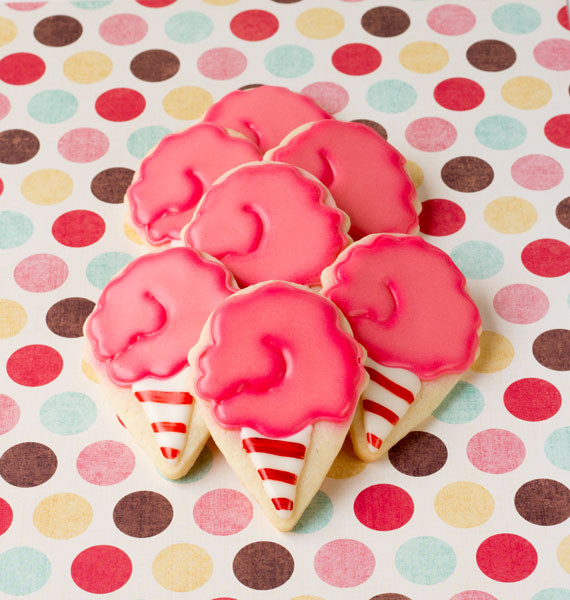 Cotton Candy Cookies by The Bearfoot Baker