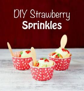 DIY-Strawberry-Sprinkles - Strawberry Royal Icing Transfers thebearfootbaker.com.jpg