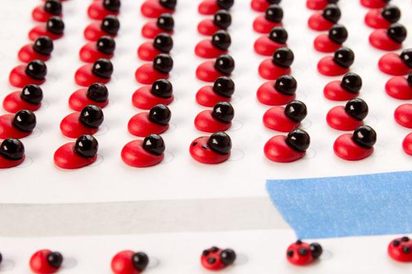 Edible Ladybug Decorations & Templates | The Bearfoot Baker