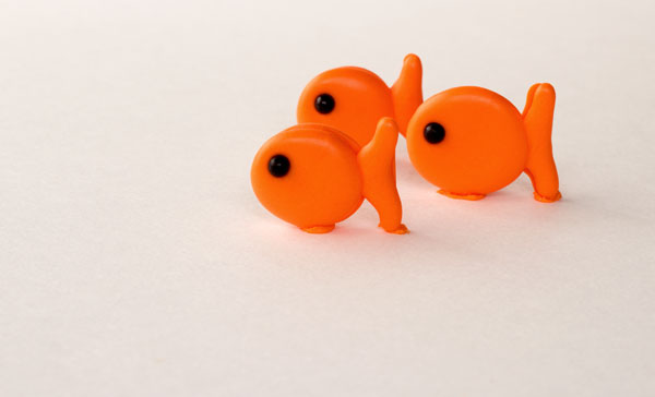 Goldfish by www.thebearfootbaker.com