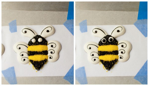 Bee-Royal-Icing-Transfers-with-thebearfootbaker.com_