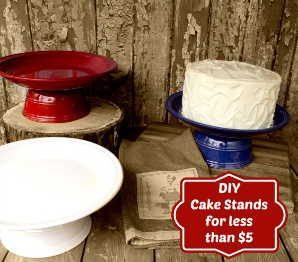 Diy Cake Stands For Under 5 By Www Tarfootbaker Com