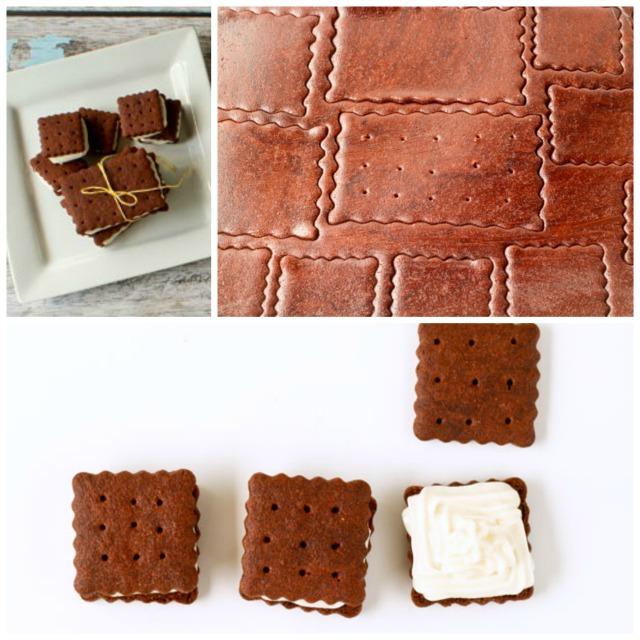 Ice Cream Cookies by thebearfootbaker.com