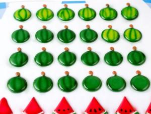Royal Icing Watermelons