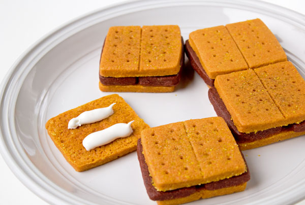 Easy Smores Cookies thebearfootbaker.com