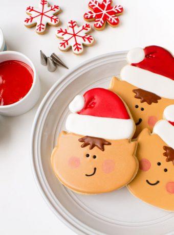 Elf Cookies thebearfootbaker.com