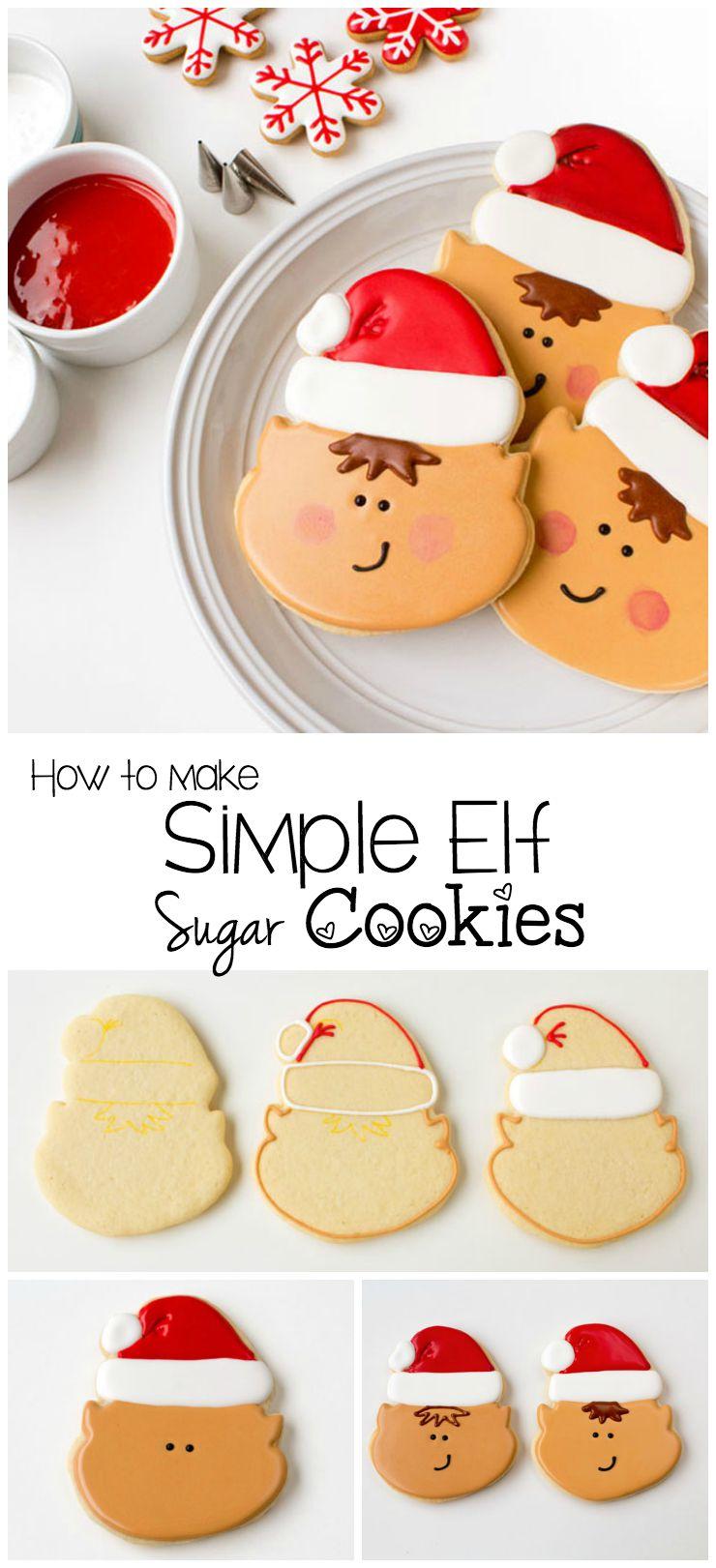 How to Make Simple Elf Cookies | The Bearfoot Baker