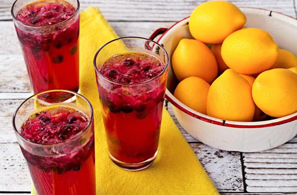 Blueberry Lemonade Recipe | The Bearfoot Baker