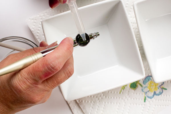 Simple way for Cleaning an Airbrush Gun with Vodka thebearfootbaker.com