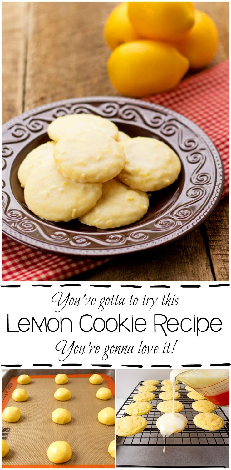 Lemon Cookie Recipe   The Bearfoot Baker