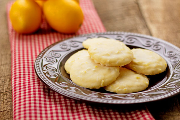 Lemon Cookies Recipes thebearfootbaker.com