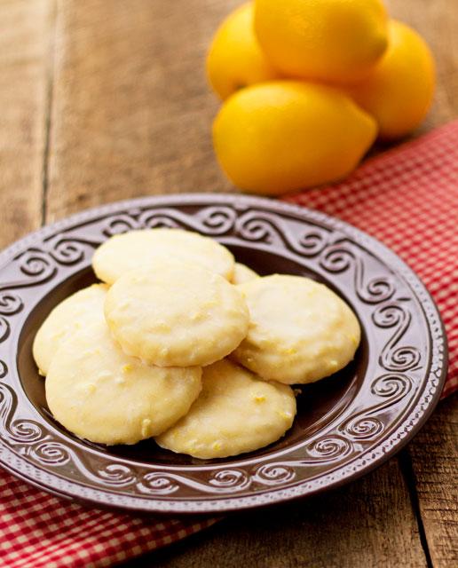 Simple Lemon Cookies thebearfootbaker.com