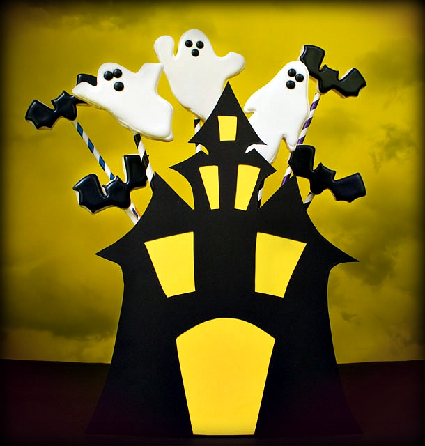 Haunted House Cookie Bouquet The Kids Can Make The