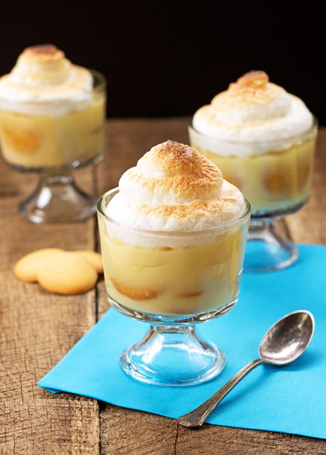 Old Fashioned Banana Pudding Recipe thebearfootbaker.com