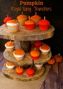 Pumpkin Royal Icing Transfers thebearfootbaker.com