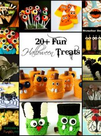 20+ Fun Halloween Treats with thebearfootbaker
