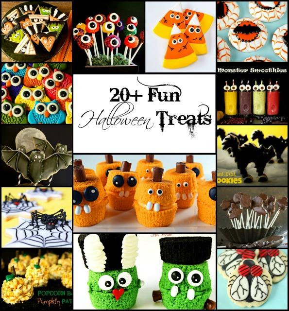 20+ Fun Halloween Treats with thebearfootbaker
