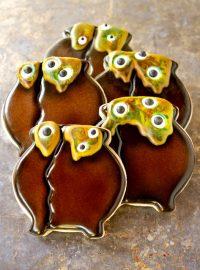 Cauldron Cookies via thebearfootbaker.com