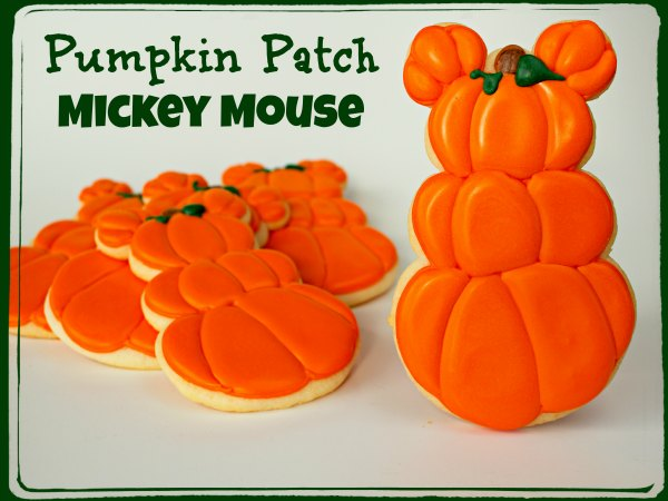Fun Halloween Treats Mickey-Mouse-Cookies via thebearfootbaker.com