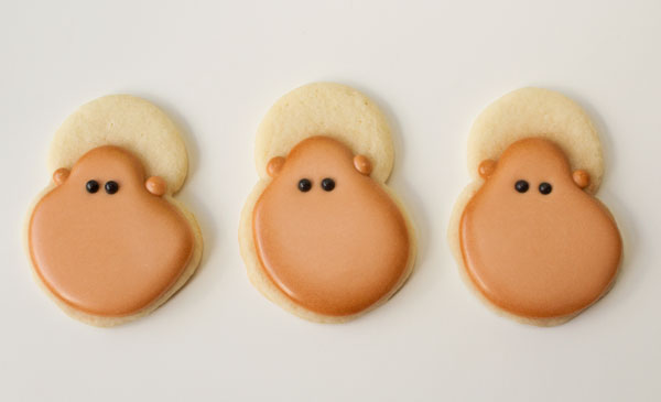Little Monster Cookies via thebearfootbaker.com