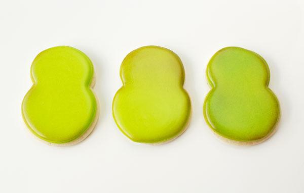 Simple Little Monster Cookies via thebearfootbaker.com
