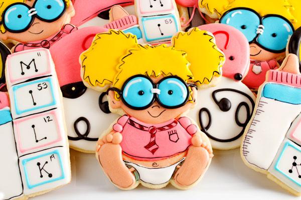 Baby Geek Cookies via thebearfootbaker.com