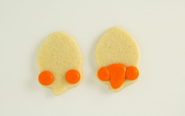 Chevron Cookies with www.thebearfootbaker.com