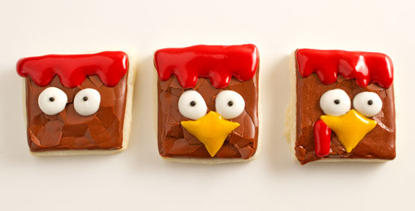 Fun Turkey Nugget Cookies with thebearfootbaker.com