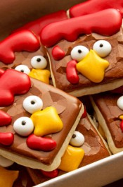 Turkey Nugget Cookies-Poor Turkeys!