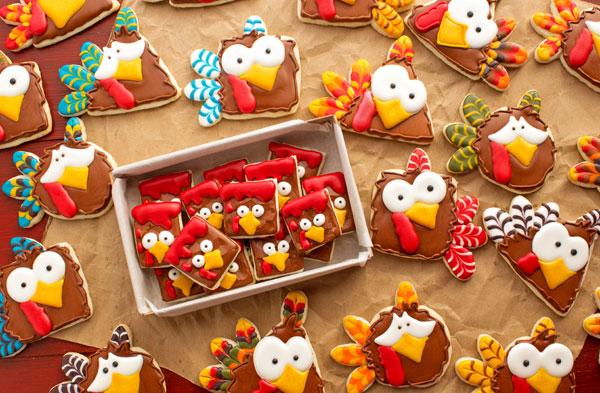Turkey Nugget Cookies Poor Turkeys The Bearfoot Baker