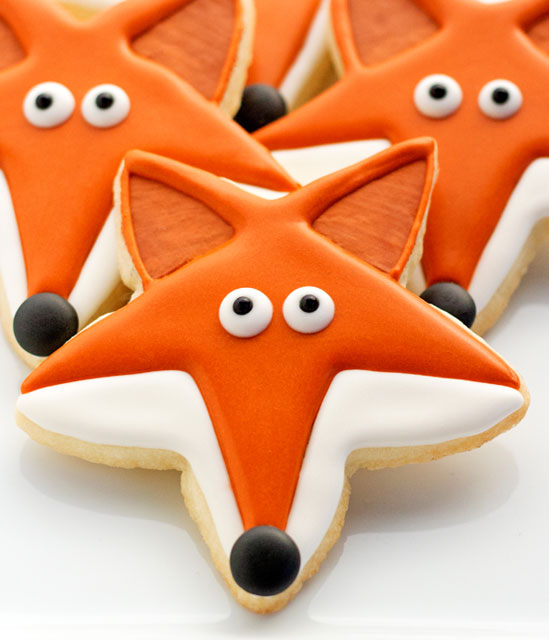 What Does the Fox Say Cookies with thebearfootbaker.com
