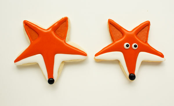 What Does the Fox Say Cookies www.thebearfootbaker.com