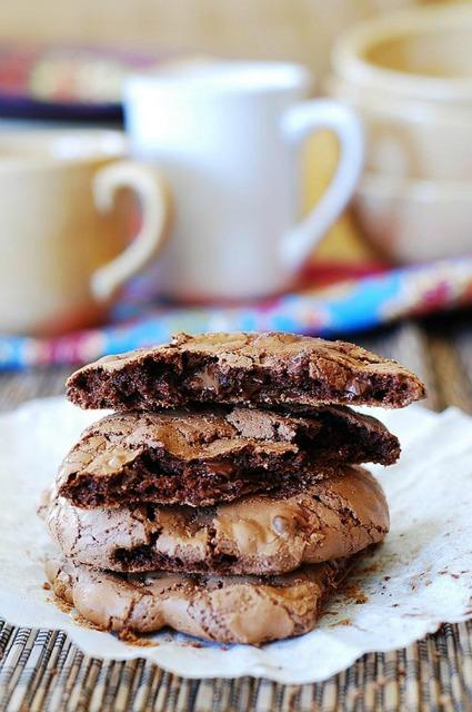 20+ Christmas Cookie Recipes via thebearfootbaker.com Outrageous Chocolate Cookies Recipe by Julias Album