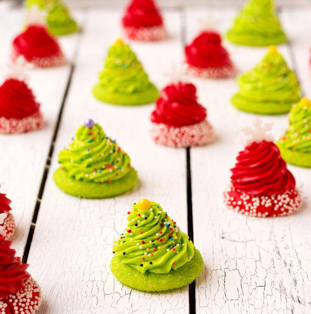 20+ Christmas Cookies via thebearfootbaker.com Christmas Thumbprint Cookies by The Bearfoot Baker