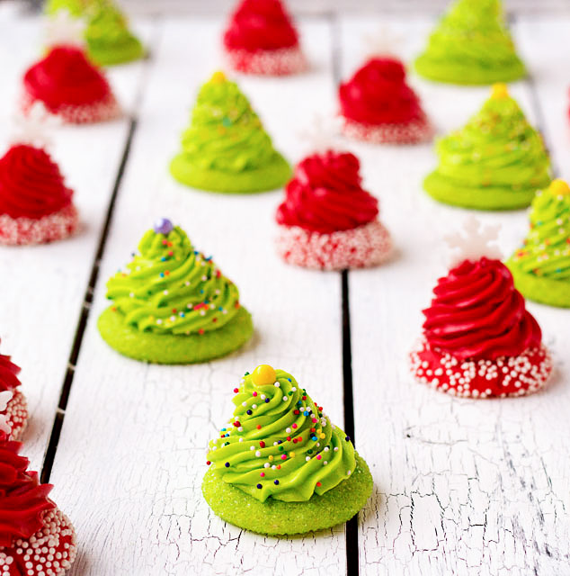 20+ Christmas Cookies Christmas Thumbprint bCookies | The-Bearfoot Baker
