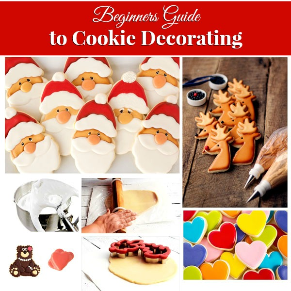 A Beginners Guide to Cookie Decorating via thebearfootbaker.com