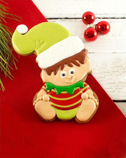 Baby Elf Cookies by www.thebearfootbaker.com