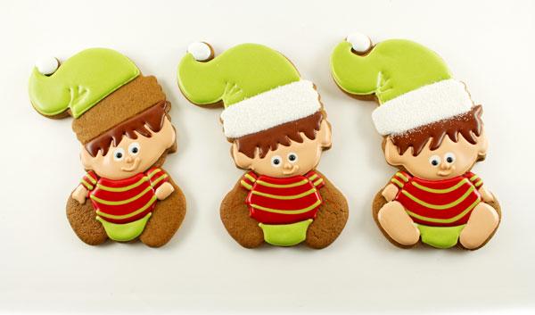 Baby Elf Cookies via thebearfootbaker.com