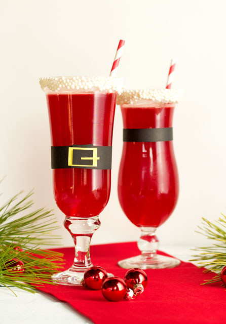 Christmas Punch Santa Style The Bearfoot Baker