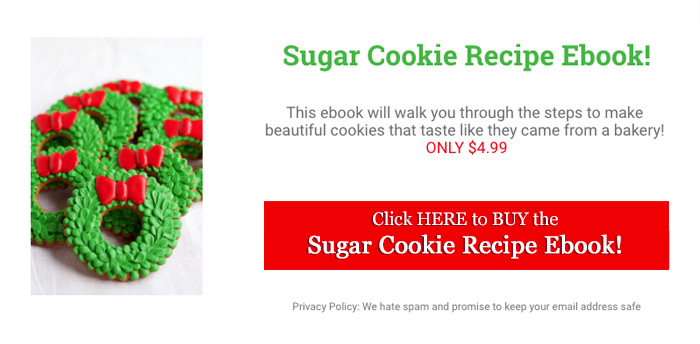 New Sugar Cookie Recipe Ebook! Perfect Cookies Every Time