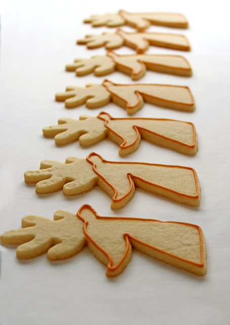 Reindeer Cookies for Christmas with www.thebearfootbaker.com
