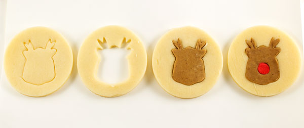 Simple Reindeer Cookies by thebearfootbaker.com