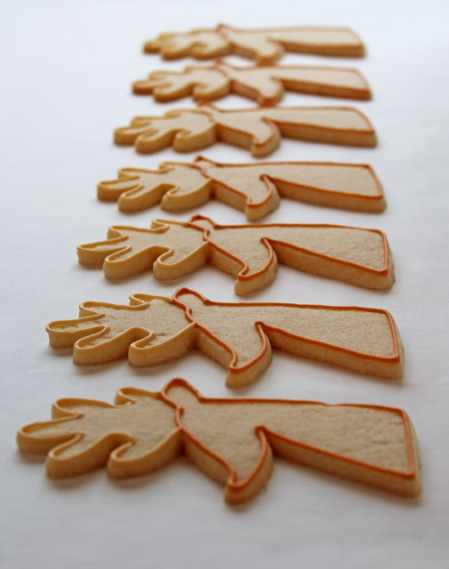 Simple Reindeer Cookies with thebearfootbaker.com