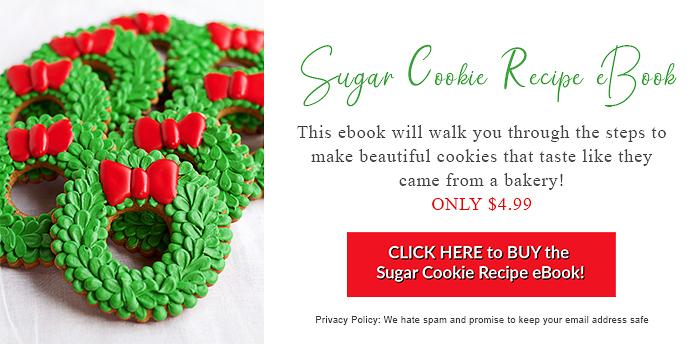 beginners guide, cookie tutorials, sugar cookies, royal icing