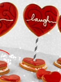 Live Laugh Love Cookies www.thebearfootbaker.com
