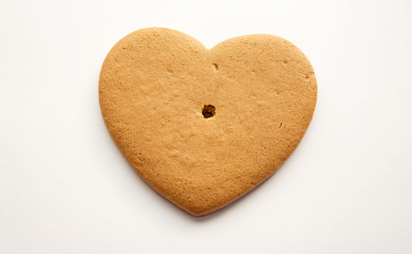 Simple Live Laugh Love Cookies via thebearfootbaker.com