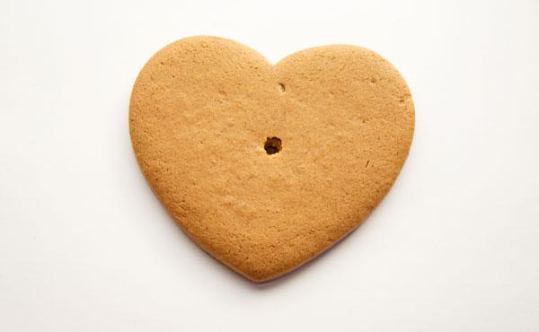 Simple Live Laugh Love Cookies via thebearfootbaker.com