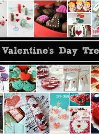 20 Valentines's Day Treats www.thebearfootbaker.com