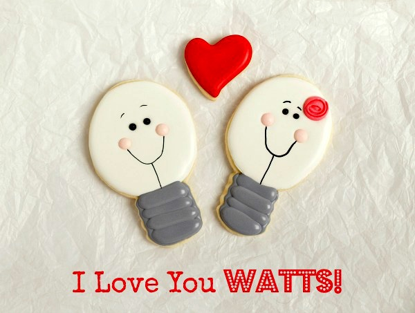I Love You Watts Valentine Cookies   www.thebearfootbaker.com