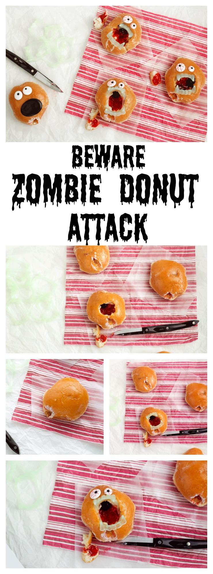 Zombie Donuts -Love Hurts | The Bearfoot Baker
